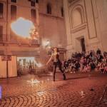 Yara la Dalia Nera in Piazza Mantegna